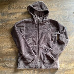 Patagonia Olive Full Zip Hoody Fleece Jacket